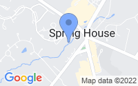 Map of Spring House PA