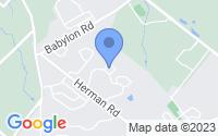 Map of Horsham PA
