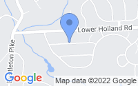 Map of Holland PA