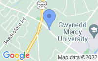 Map of Gwynedd Valley PA
