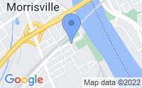 Map of Morrisville PA