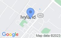 Map of Ivyland PA