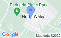 Map of North Wales PA