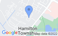 Map of Hamilton Township NJ
