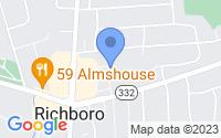 Map of Richboro PA