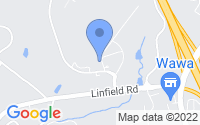 Map of Royersford PA