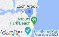 Map of Asbury Park NJ