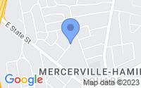 Map of Hamilton Township NJ