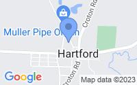Map of Hartford OH