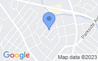 Map of Ewing Township NJ