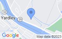 Map of Trenton NJ