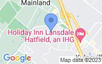 Map of Harleysville PA