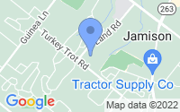 Map of Jamison PA