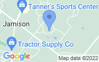 Map of Jamison PA