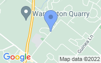 Map of Warrington PA