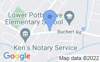 Map of Pottstown PA