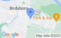 Map of Birdsboro PA
