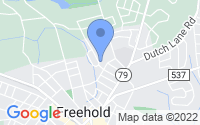 Map of Freehold NJ