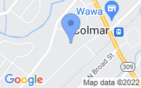 Map of Colmar PA