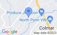 Map of Colmar PA