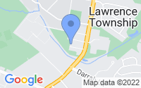 Map of Lawrence Township NJ