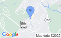 Map of Chalfont PA