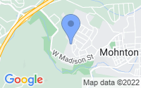 Map of Mohnton PA