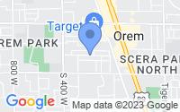 Map of Orem UT