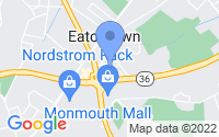 Map of Eatontown NJ