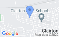 Map of Clairton PA