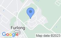 Map of Furlong PA