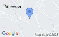 Map of Clairton PA