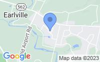 Map of Douglassville PA
