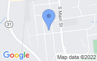 Map of Pennington NJ