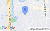 Map of Tinton Falls NJ