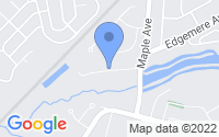 Map of Plainsboro Center NJ
