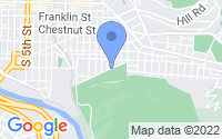Map of Reading PA