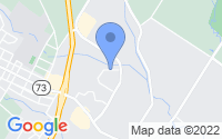 Map of Gilbertsville PA