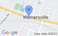 Map of Wernersville PA