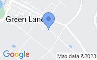 Map of Green Lane PA