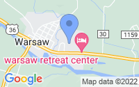 Map of Warsaw OH