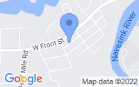 Map of Red Bank NJ