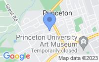 Map of Princeton NJ