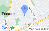 Map of Princeton NJ