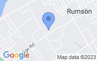 Map of Rumson NJ