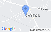 Map of Dayton NJ