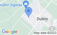 Map of Dublin PA