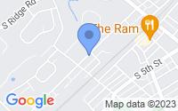 Map of Perkasie PA