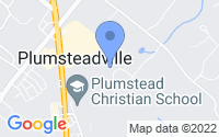 Map of Plumsteadville PA