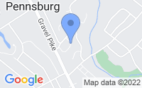 Map of Pennsburg PA